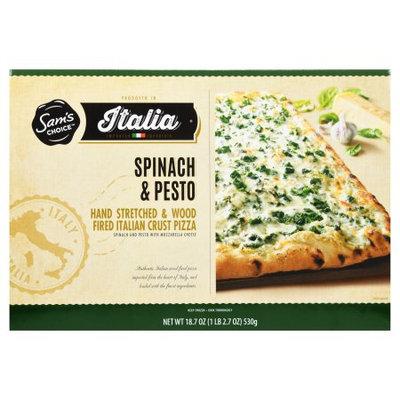 Sam's Choice Italia Chopped Spinach & Pesto Frozen Pizza