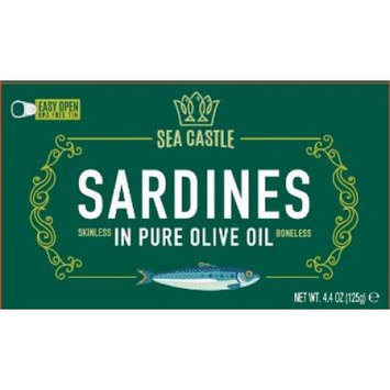 Sea Castle Sardines, in Olive Oil, 4.375 Oz