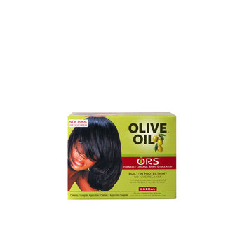 Organic Root Stimulator No-Lye Relaxer Built-In Protection Normal Olive Oil 1 Application