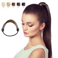 Buy 2 Hollywood Hair Elastic Hair Tie and get 1 Thick Braid Headband - Dark Brown (Pack of 3)