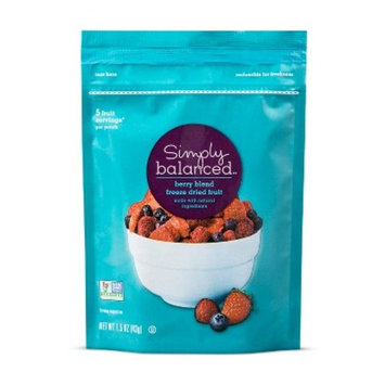 Freeze Dried Fruit Berry Blend - 1.5oz - Simply Balanced™
