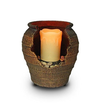 Artful Accents Cordless Tranquility Fountain Candle