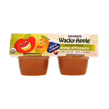Wacky Apple BCA22504 Og2 Apple Sauce Mango 6 x 4 Pack