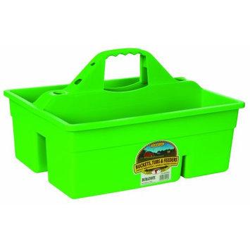 Miller Mfg Inc Miller Mfg Co Inc Plastic Dura Tote- Lime Green - DT6LIMEGREEN