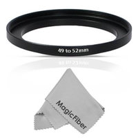 Altura Photo 49-52mm Step-Up Adapter Ring (49mm Lens to 52mm Accessory)
