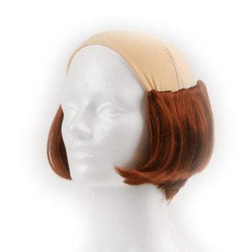 Short Tramp Bald Wig - Chestnut