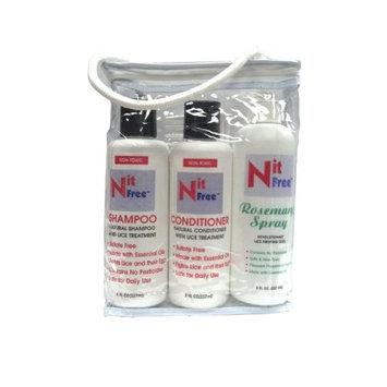 Nit Free Keep 'Em Away Head Lice Repellent Kit (Rosemary)