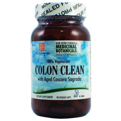 L A Naturals Colon Cleanse Raw Formula 90 VGC