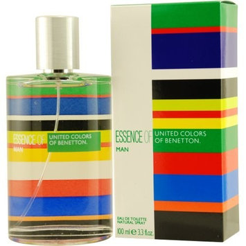 United Colors of Benetton Essence of Man By United Colors of Benetton For Men Eau De Toilette Spray, 3.3-Ounce / 100 Ml