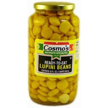 Cosmo's Ready To Eat Lupini Beans 32 Oz. Pack Of 3.