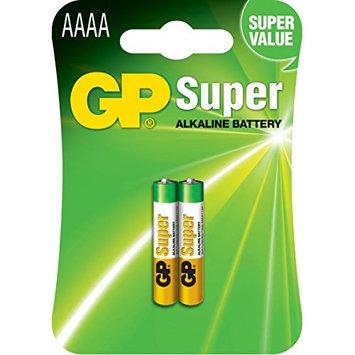 GP Batteries 1.5 V SUPER Alkaline Specialties AAAA Battery (Pack of 2)