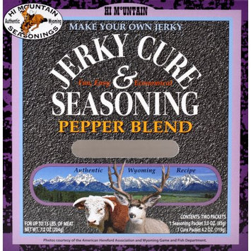 Hi Mountain Jerky HI MOUNTAIN PEPPER JERKY SEASONING