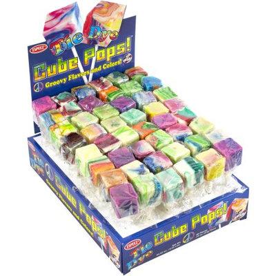 Tie Dye Cube Pops/48-ct