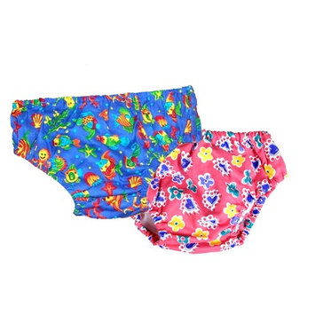Water Gear 53760 Swim Diaper-Blue Large 22-25 lbs.