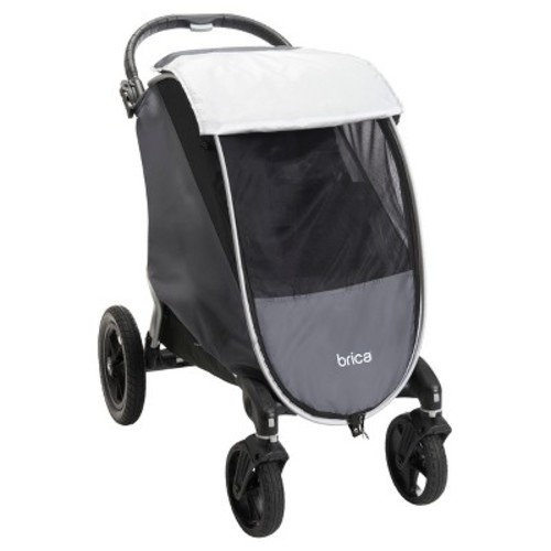 Brica Shield Stroller Comfort Canopy - Gray
