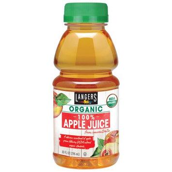 Langers Juice Langers 100% Organic Apple Juice, 10 Fl Oz (Pack of 12)