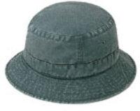 Ddi Bucket Hat (Washed) -Dark Green (Pack Of 144)