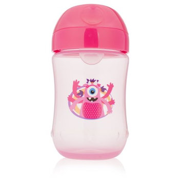 Handi-craft Company Dr. Brown's Soft-Spout Toddler Cup, Monster Pink, 9 Ounce, Single