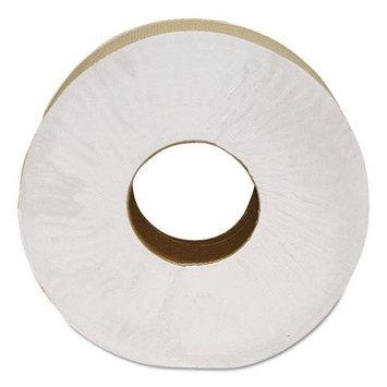 Morcon Paper Morsoft Millennium Jumbo Bath Tissue, 2-Ply, White, 9