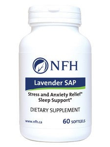 Nutritional Fundamentals for Health - Lavender SAP 60 softgels Exp.2.19+ SD2
