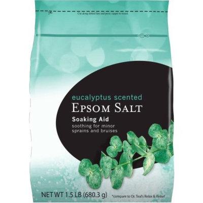 Walmart Eucalyptus Scented Epsom Salt Soaking Aid, 24 oz