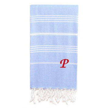 Personalized Lucky Pestemal Beach Towel