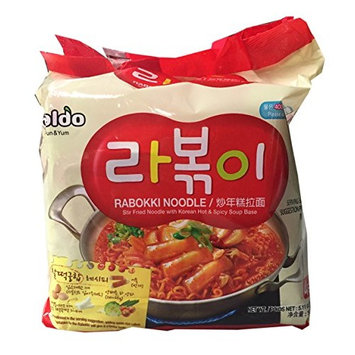 Paldo Korean Ramen Family Pack (Rabokki)
