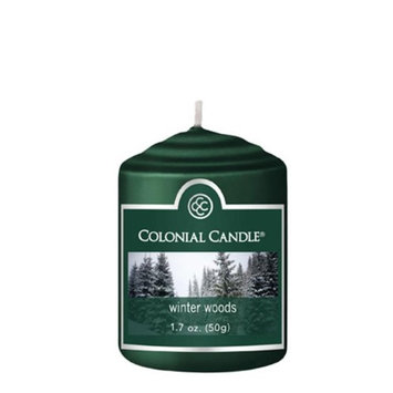 Classic Wax CC015.706 Votive Winter Woods Candles Pack of 18