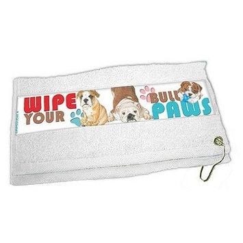 Bulldog Paw Wipe Towel