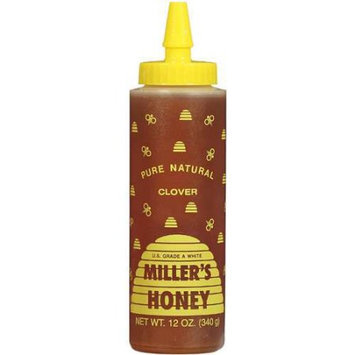 Millers Miller's Pure Honey Clover Spread, 12 oz