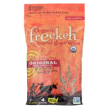 Freekeh Foods Original Roasted - Green Wheat - Case of 6 - 8 oz.