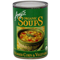 Amy's Kitchen Amy's Organic Summer Corn & Vegetable Soup, 14.5 oz (Pack of 12)