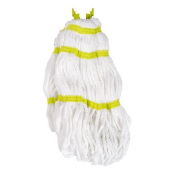 Casabella Refill For Wayclean Magnet Microfiber Twist Mop, Taupe and Green