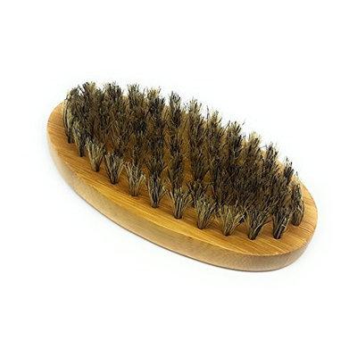 Greenity Premium Bamboo Beard and Mustache Brush for Men