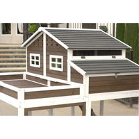 SummerHawk Ranch Garden Planter Trio Chicken Coop Bundle