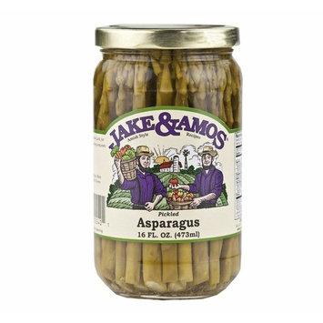 Jake & Amos Pickled Dill Asparagus, 16 Oz. Jar