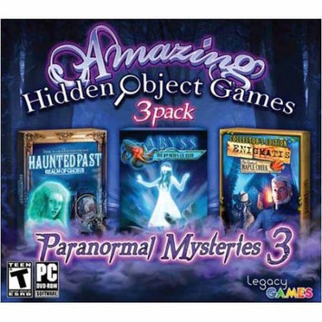 Legacy Interactive 734113022597 Amazing Hidden Object Games Paranormal Mysteries 3 - 3 Pack