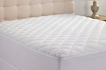 J & V Textiles Qulted Hypo-Allergenic Mattress Pad with 2 YEAR WARRANTY (KING)