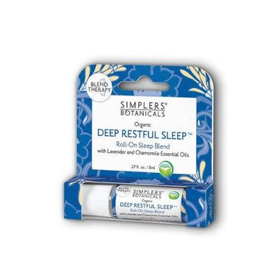 Deep Restful Sleep Simplers Botanicals .27 oz Roll-on