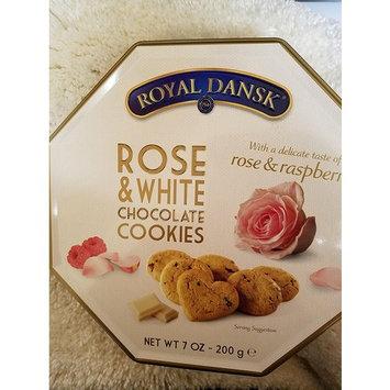 Rose,White Chocolate and Raspberry Cookies