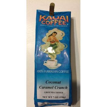Kauai Coffee Company Coconut Caramel Crunch Ground Coffee 7 oz. 100% Hawaiian.