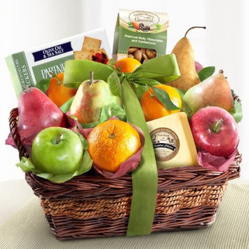 Sympathy Classic Gourmet Fruit Basket Gift [Sympathy]