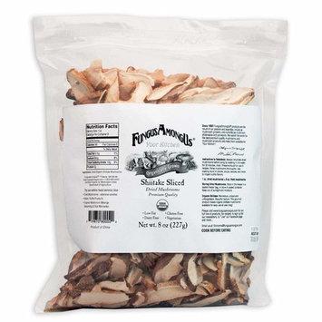 Bulk Dried Organic Shiitake Mushrooms Sliced - 8 oz - FungusAmongUs