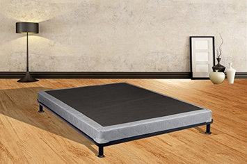 Continental Sleep Luxury Collection 5' Fully Assembled Coil Box Spring for Mattress, Full
