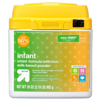 Non-GMO Formula, Infant with Iron - 35 oz - Up&Up™