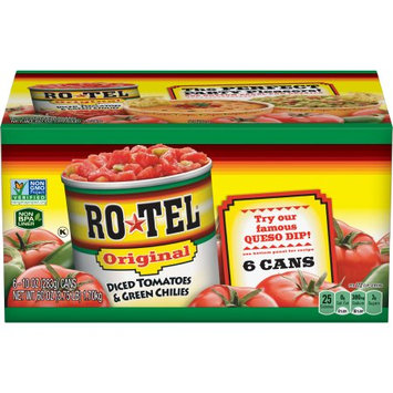 Conagra Foods - Grocery Products Rotel Original Diced Tomatoes & Green Chilies, 10 oz, 6 ct