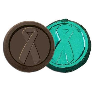 Chocolate Chocolate 325830 Liver Cancer Awareness Chocolate Coin.