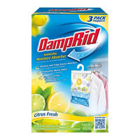 DampRid Cleaning Products 42 oz. Citrus Fresh Hanging Bag (3-Pack) FG83CF