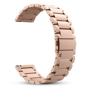Gear S3 Frontier / Classic Watch Band, Fintie Stainless Steel Metal Replacement Strap Bands Moto 360 2nd Gen, Rose Gold