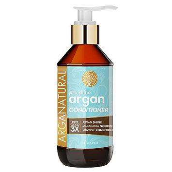 Arganatural Gold Pro Shine Argan Conditioner 16 Fluid Ounce